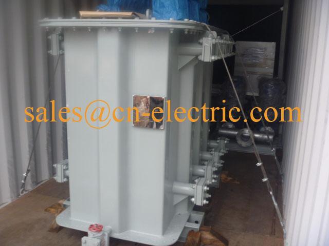 1250 kVA 6 kV to 690 V 6 pulse Rectifier Transformer for